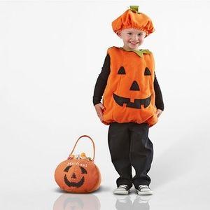 PUMPKIN COSTUME CHILD 4-6